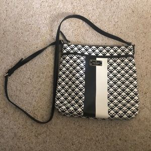 Kate Spade Black White Crossbody